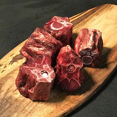 Meaty Venison Neck, Raw Dog Food Suppliers UK