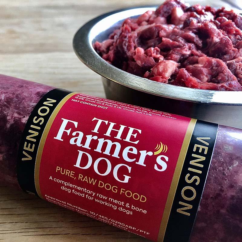 Wild Venison Frozen Raw Dog Food